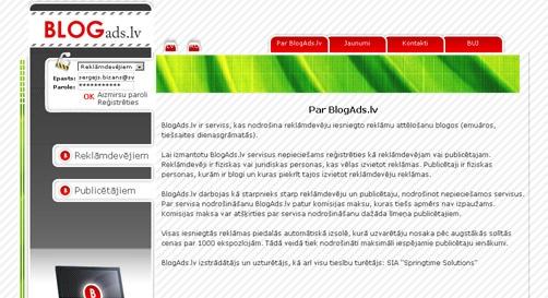 BlogAds.lv kopskats
