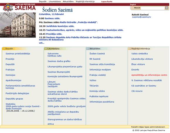 www.saeima.lv
