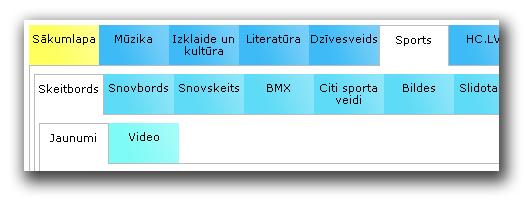 HC.LV izvēlne