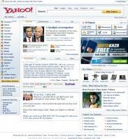 Yahoo! ekrānšāviņš