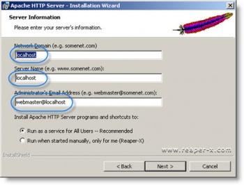 Apache instalācija