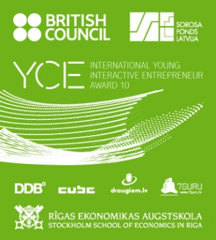 International Young Interactive Entrepreneur (IYIE) award 2010